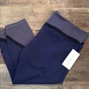 Athleta Elevation 7/8 yoga pants. 2X